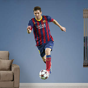 Lionel Messi - No. 10 Fathead Wall Decal